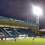 The Rainham end at the priestfield stadium gillingham