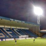 The Rainham end at the priestfield stadium gillingham