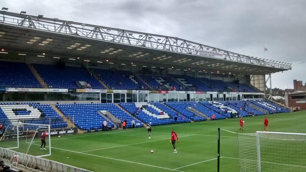 London Road Stadium, Peterborough