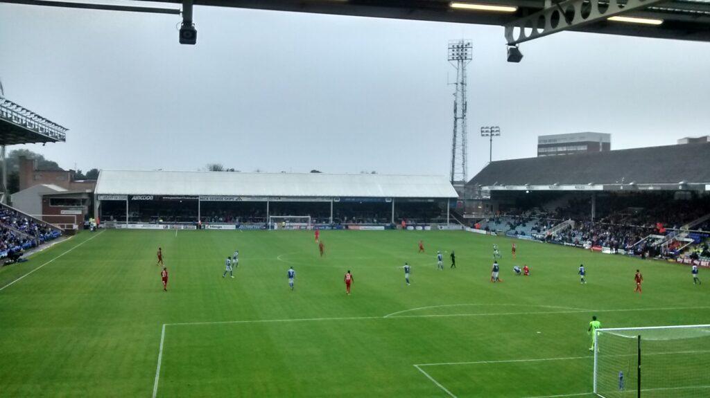 Peterborough United v Swindon Town league 1 2016