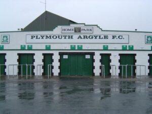 Entrance to Plymouth Argyle's Home Park.