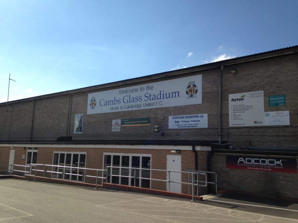 Cambs Glass Stadium Cambridge