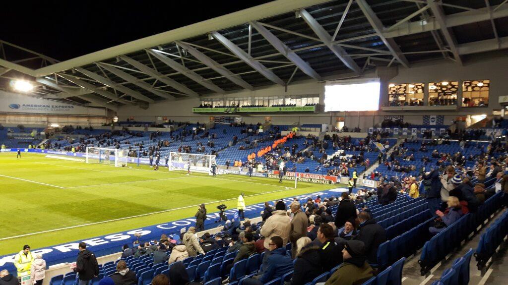 South Stand at the Amex Stadium Brighton