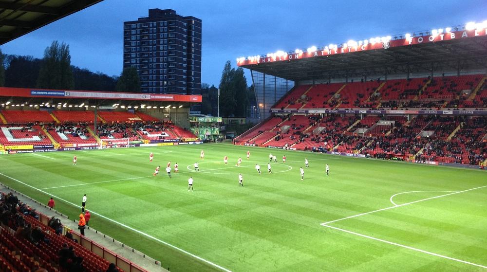 Charlton Athletic v Port Vale at the Valley