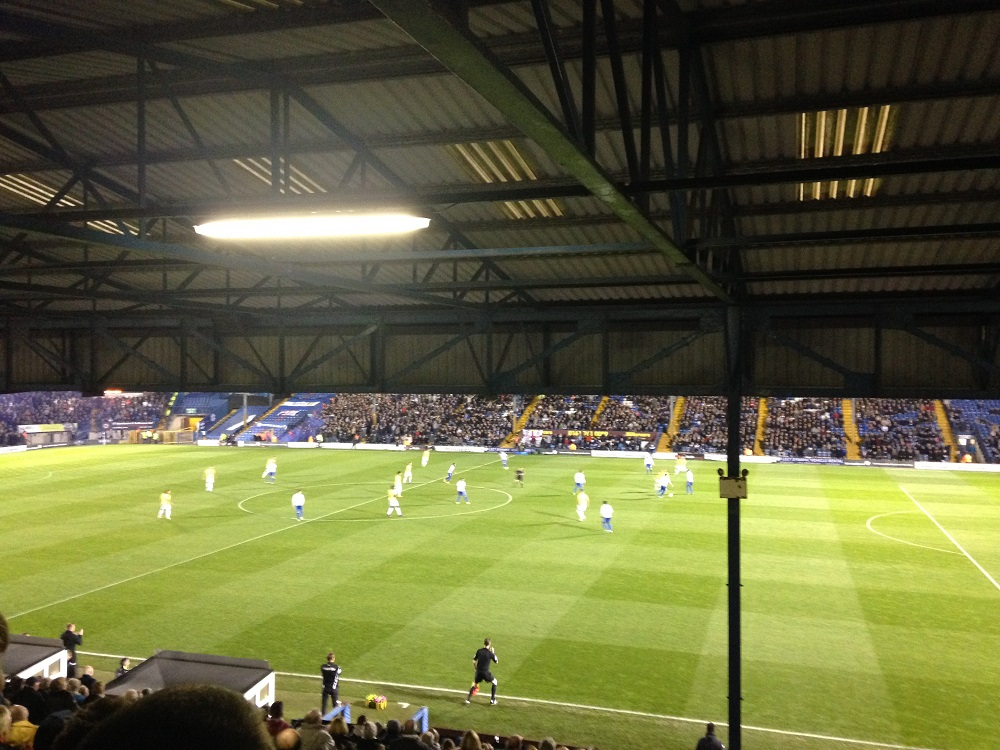 Bury v Bolton Gigg Lane League 1