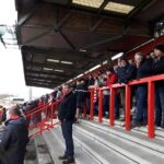 East Terrace at the Lamex Stadium (Broadhall Way) Stevenage