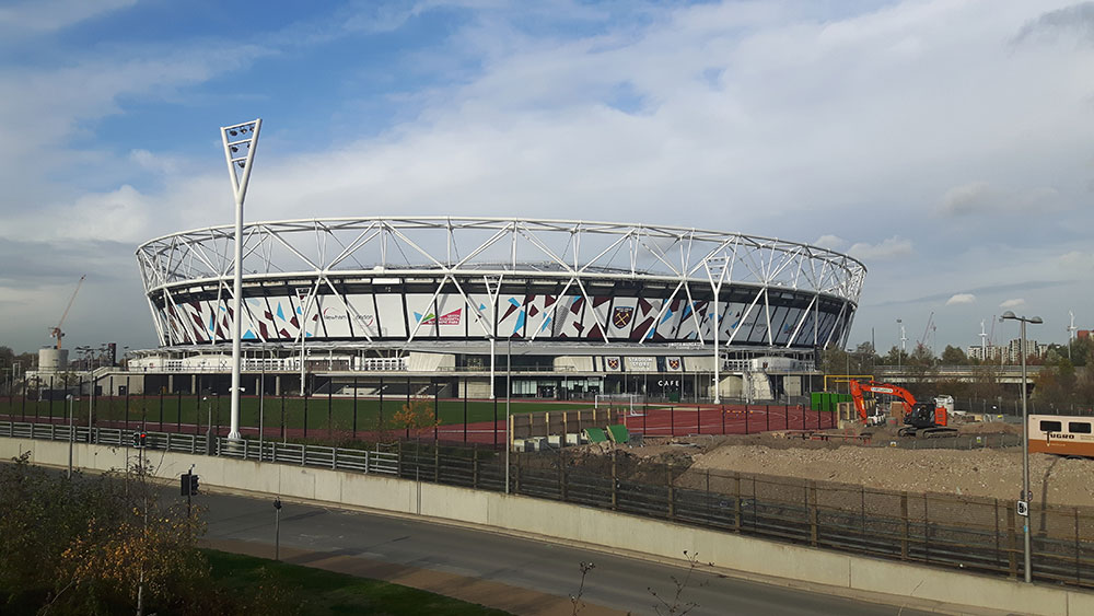 The London Stadium, the new home of Premier League side West Ham United