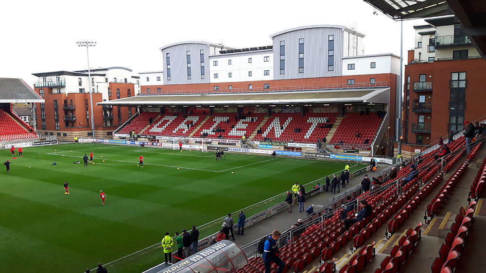 The Tommy Johnston Stand, Leyton Orient