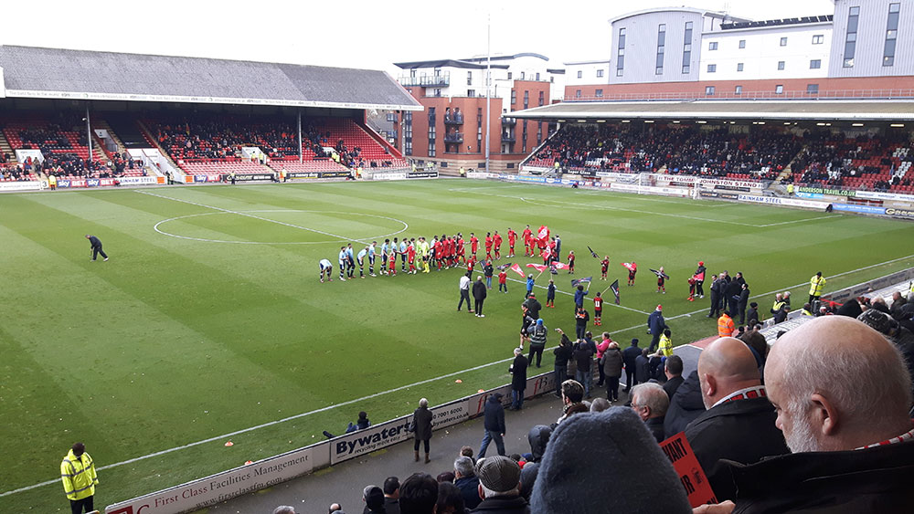 Leyton Orient v Blackpool in League 2 at the Matchroom Stadium