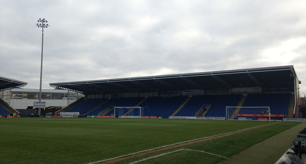 chesterfield fc's ground, the proact stadium