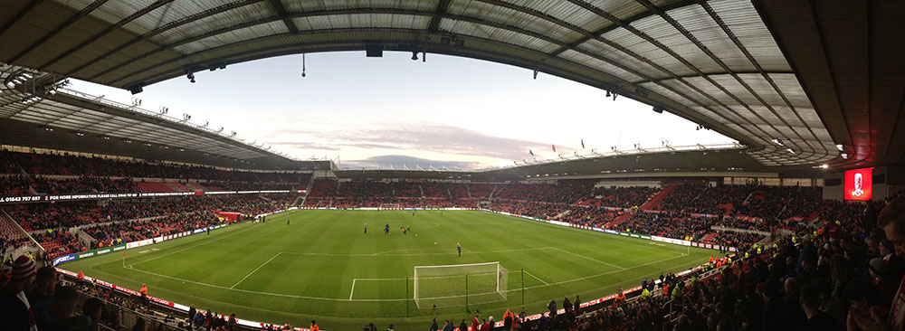 Middlesbrough v Sheffield Wednesday in the 3rd round of the fa cup