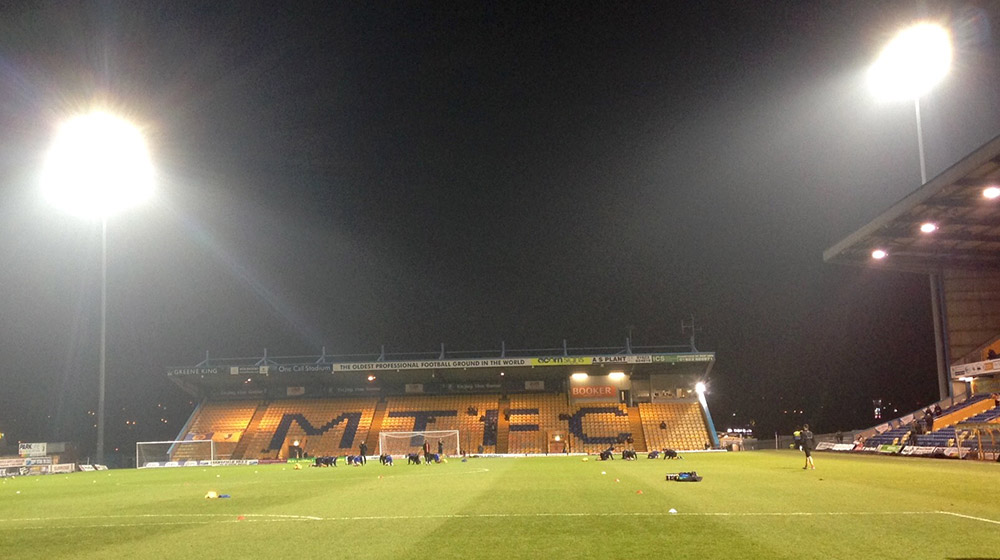 One Call Stadium Mansfield: 'The oldest professional football ground in the world'