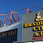 Main entrance at Bradford City FC