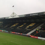 The Jimmy Sirrell Stand at Meadow Lane Notts County