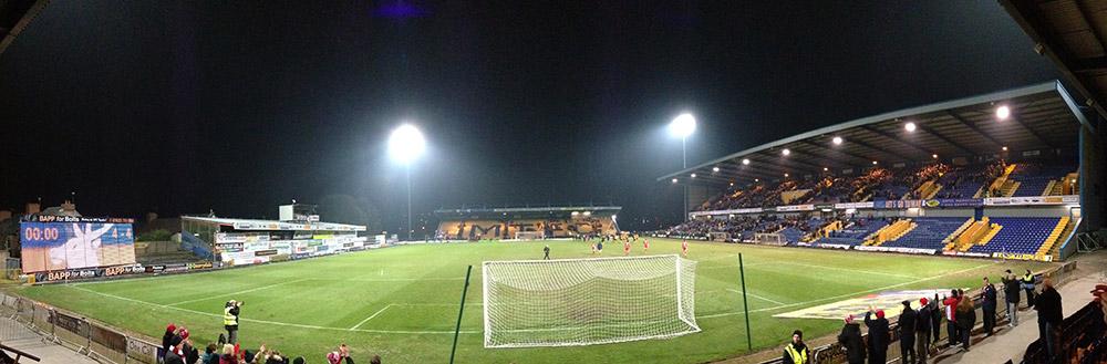 One call stadium Mansfield