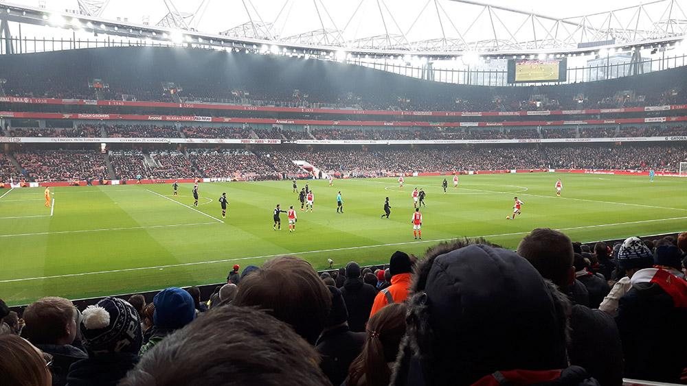 Arsenal v Hull at the Emirates Stadium