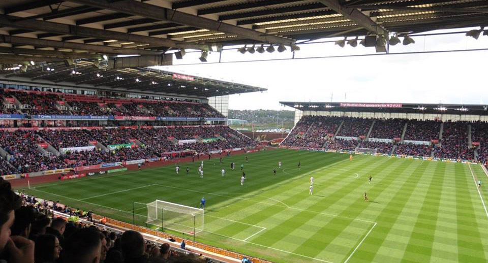 Stoke City v Hull City at the Bet365 Stadium in the Premier League