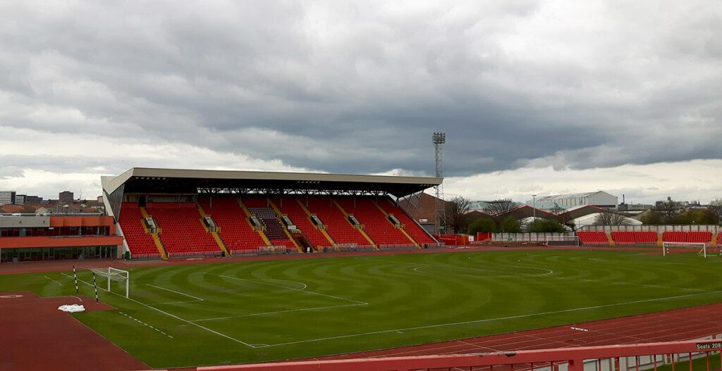 The Gateshead International Stadium, the home of Vanarama National side Gateshead