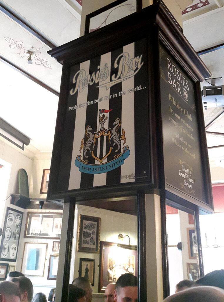 Rosie's Bar Newcastle town centre