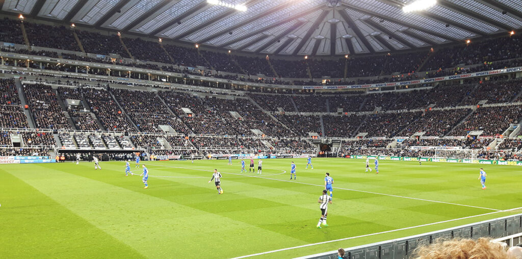 Newcastle v Leeds in the Championship 14 April 2017
