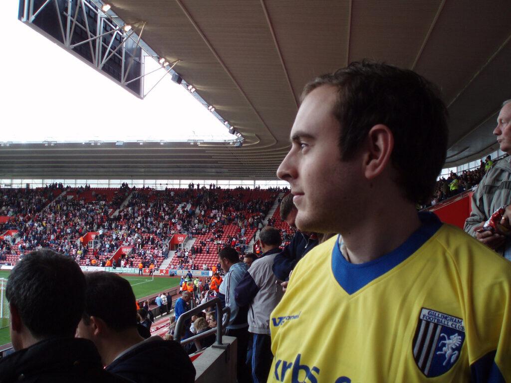Gillingham away at Southampton