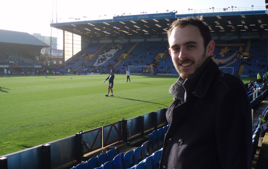 Ticking off Fratton Park doing the 92