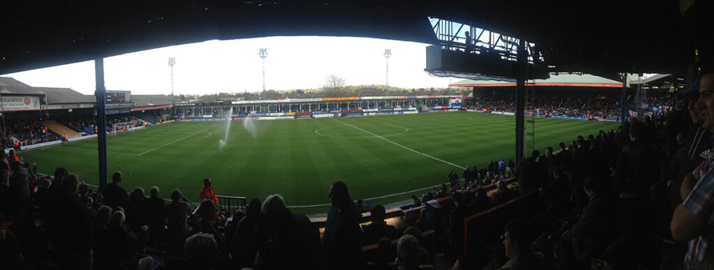 Panoramic photo of Kenilworth Road