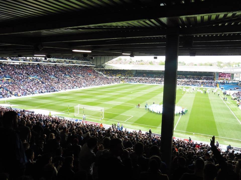 Pre-match Leeds v Norwich at Elland Road