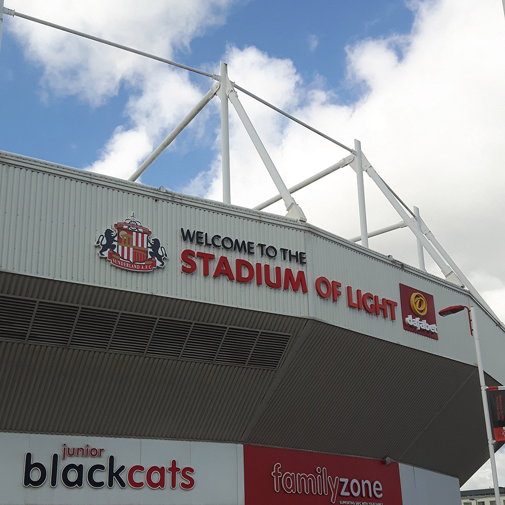 The Stadium of Light Sunderland