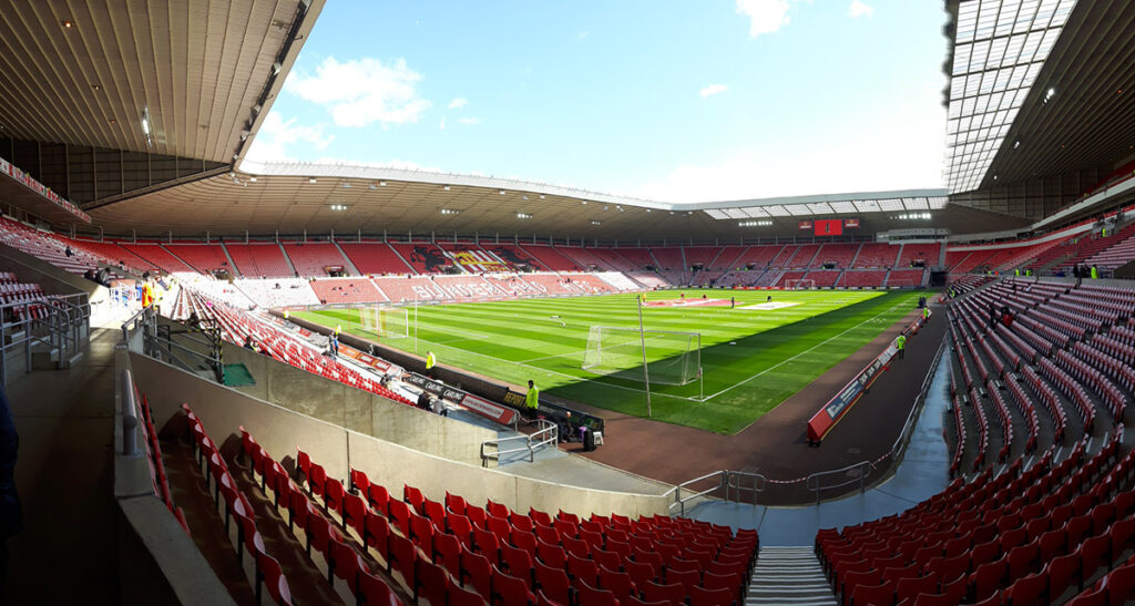 Sunderland's ground the Stadium of Light