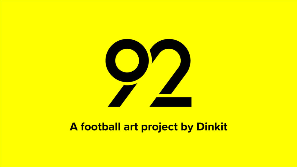 92 - a football art project by Dinkit