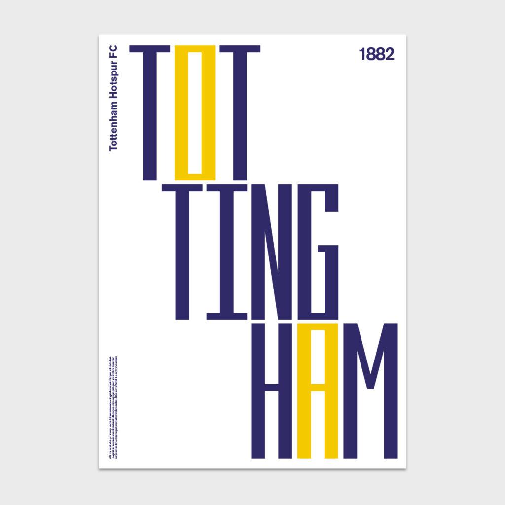 Dinkit 92 editions print - Tottenham