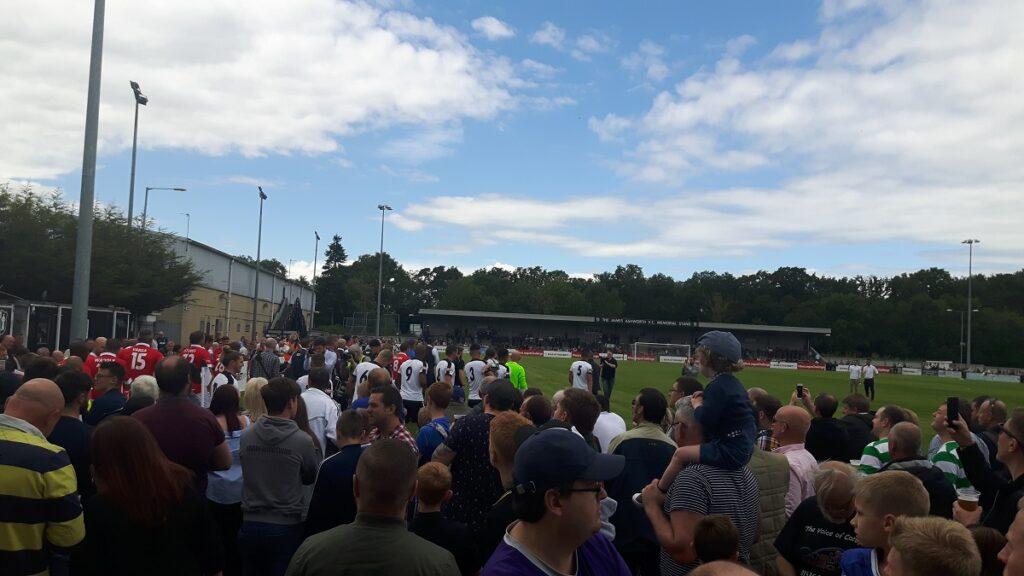 Corby Town v Premier League legends in the non league challenge