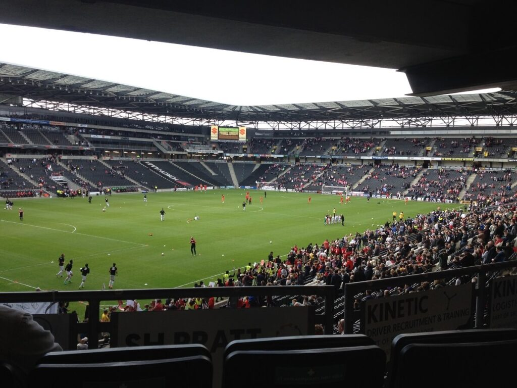 Stadium Mk the home of MK Dons