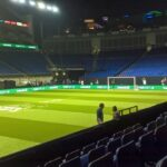 The 02 Arena ready for the Star Sixes