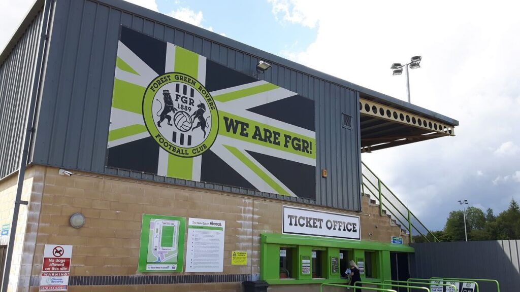 Forest Green Rovers Main Stand