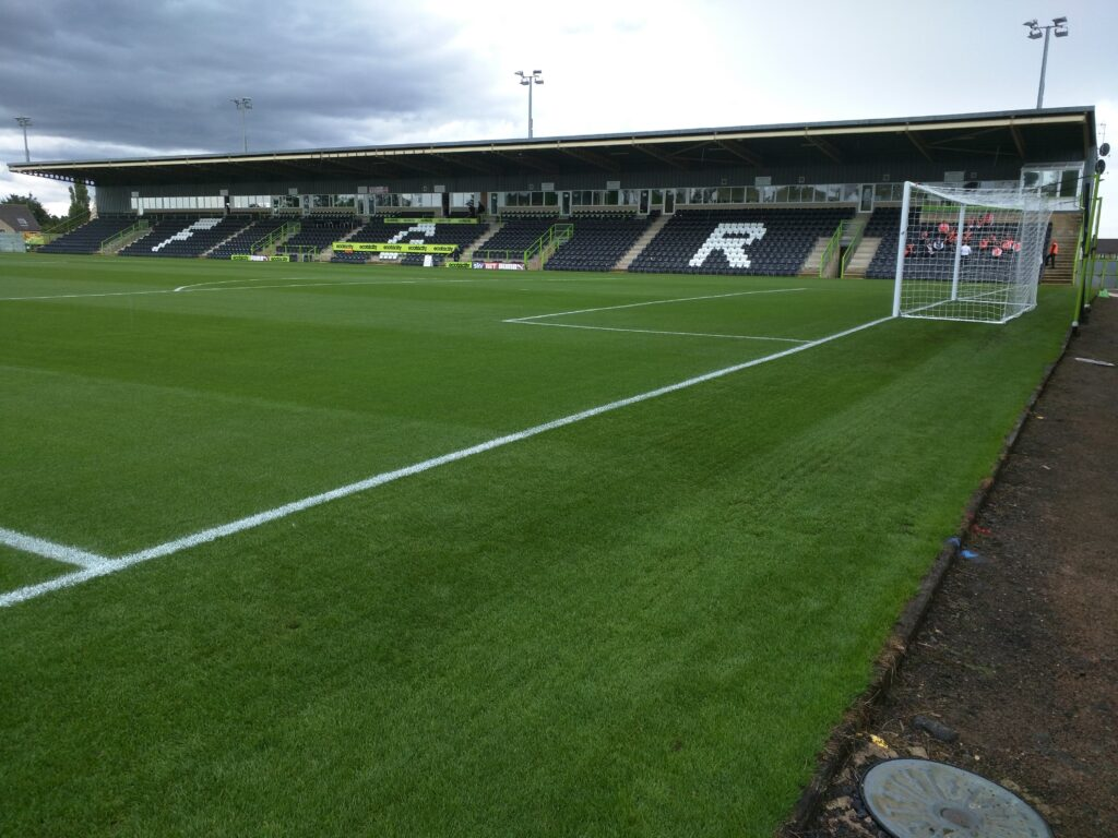 East Stand at The New Lawn