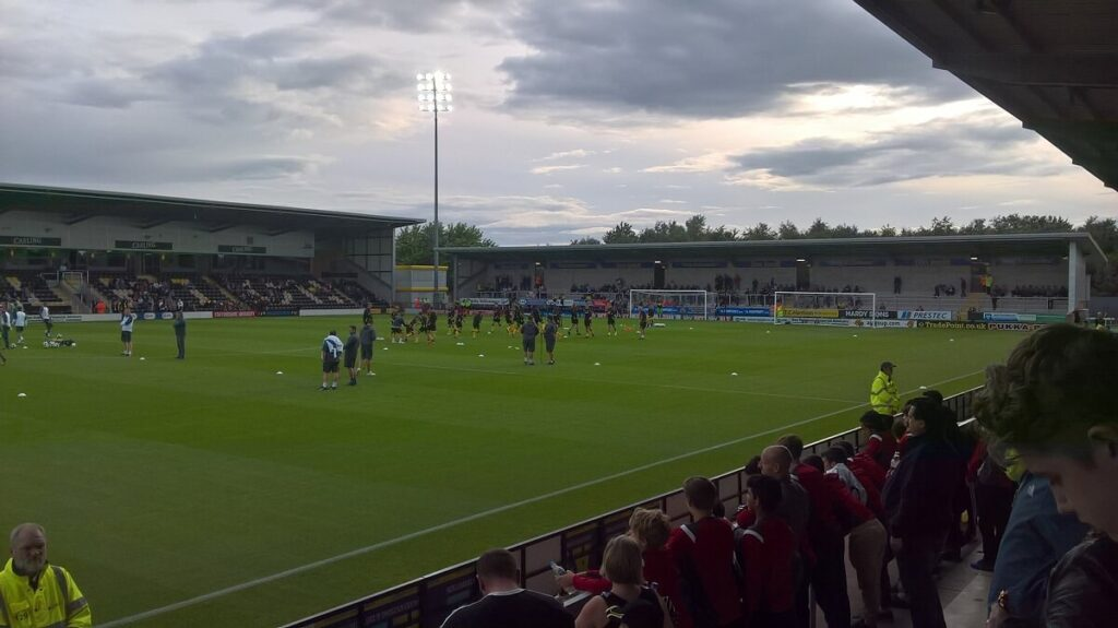 Burton v Leicester pre season friendly