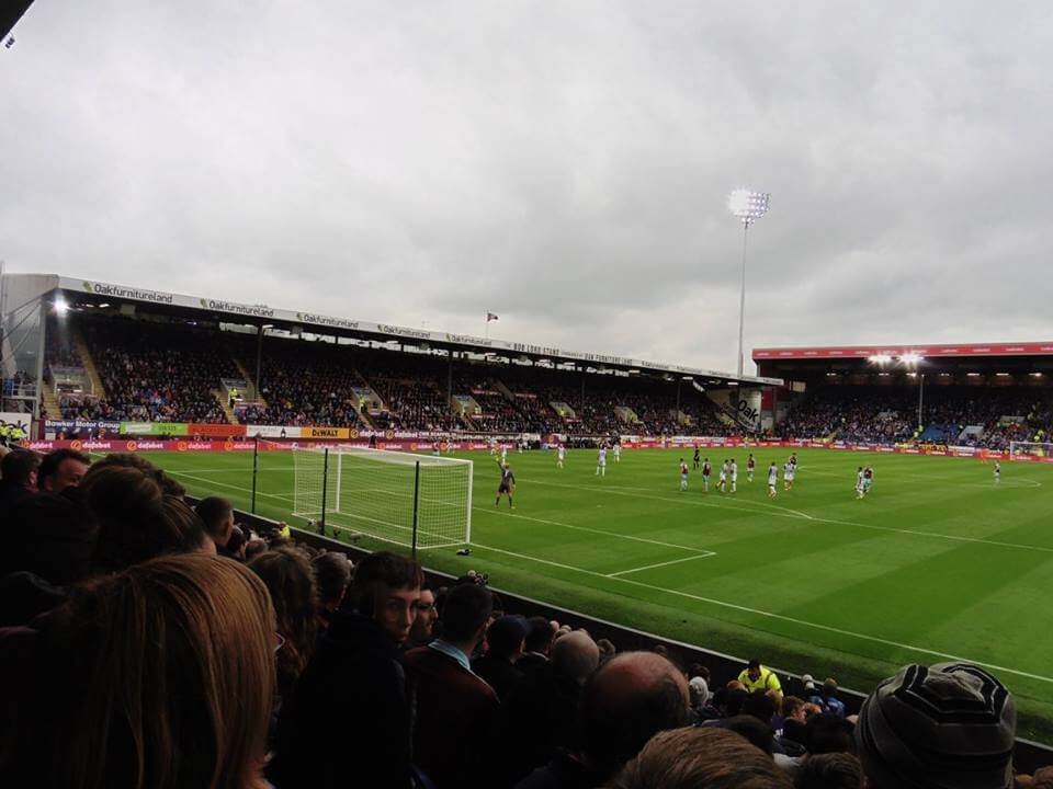 Burnley v Huddersfield at Turf Moor