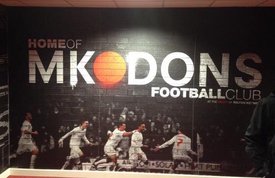 Inside Stadium MK