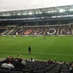 MK Dons v Bradford City in League 1 at Stadium MK